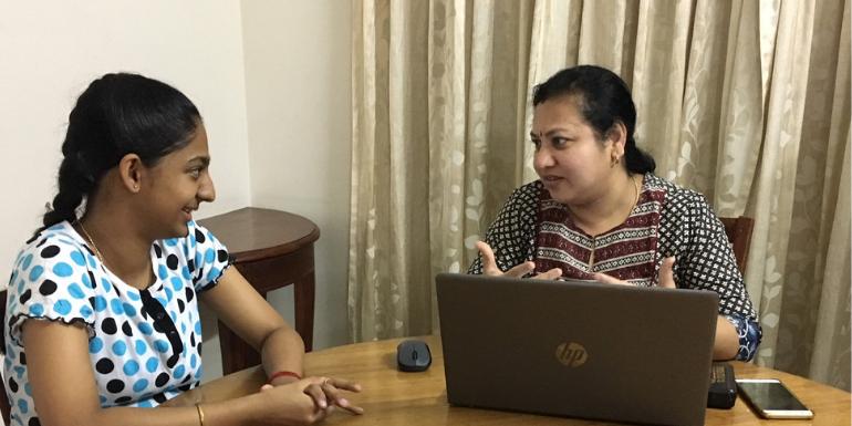 Mrs. Hemalatha Sriram, successful career counsellor