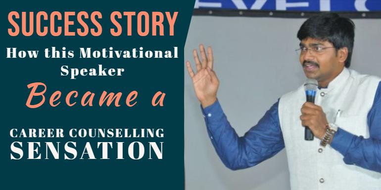 Mr. Sudheer Sandra, successful Career Counsellor