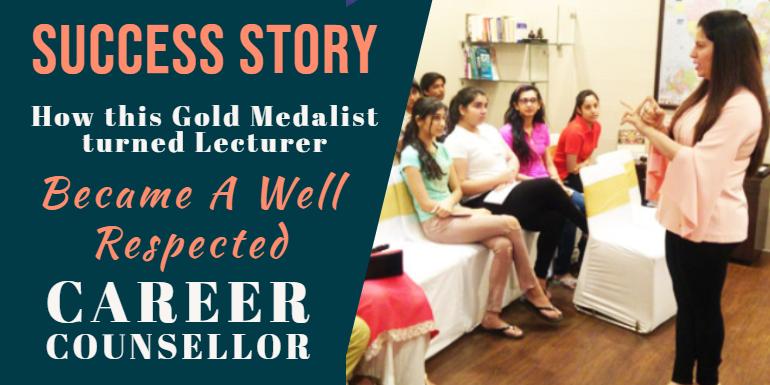 Tina Jhanb, successful Career Counsellor