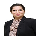 Tina Jhanb - MSc, MPHIL(Statistics), worked as lecturer in Lady Shri Ram College